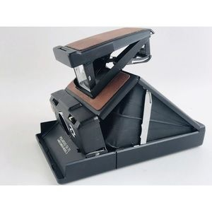 Polaroid SX-70 Land Camera Model 3 Leather Case